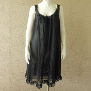 Illusion Nightgown Nightie Vintage